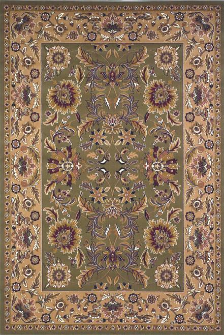 KAS Cambridge 7304 Green Taupe Kashan