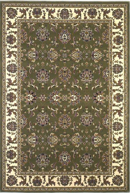 KAS Cambridge 7314 Green Ivory Kashan