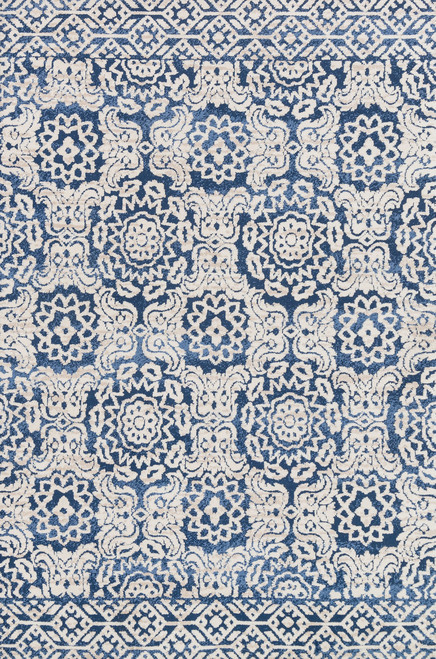 Magnolia Home LOTUS LB-06 BLUE-ANT-IVORY by Joanna Gaines