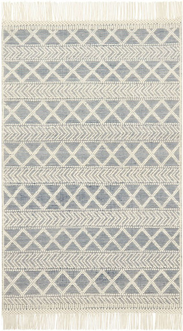 Magnolia Home HOLLOWAY YH-03 NAVY-IVORY by Joanna Gaines