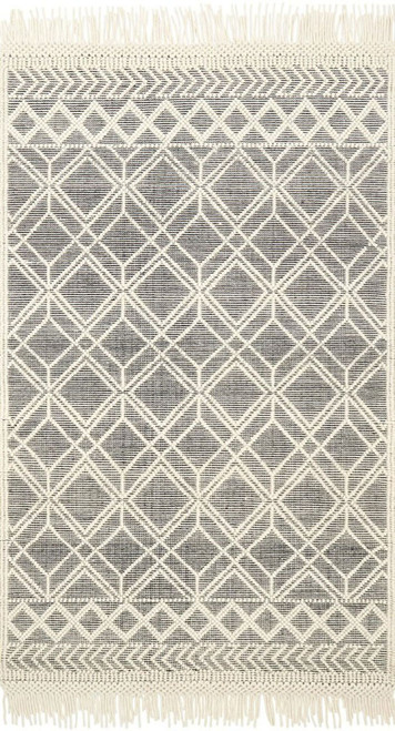 Magnolia Home HOLLOWAY YH-04 BLACK-IVORY by Joanna Gaines