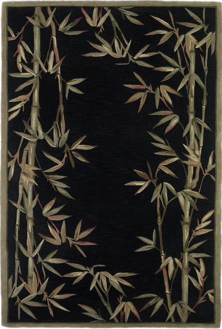KAS Sparta 3147 Black Bamboo Border