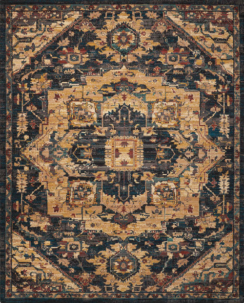 Nourison Nourison 2020 Midnight Area Rug - NR206-MIDNIGHT