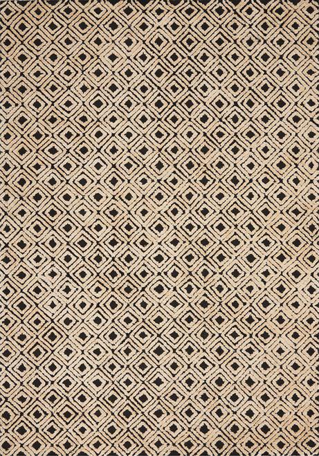 Nourison Deco Mod Black-Beige Area Rug