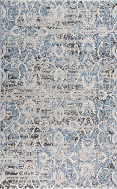 Feizy Home Ainsley 3901F Blue - Ivory