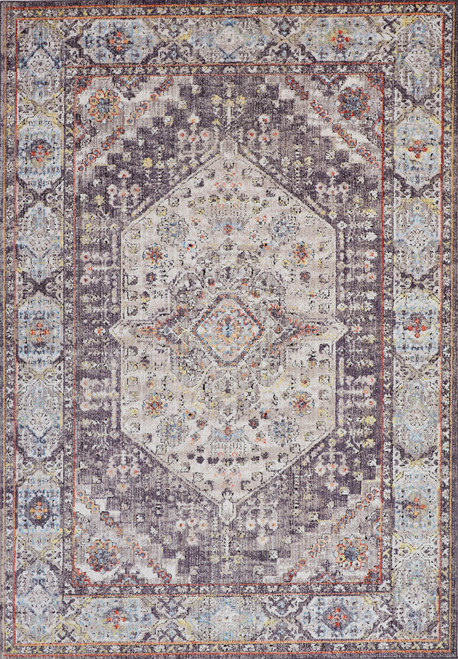 Feizy Home Armant 3907F Charcoal - Multi