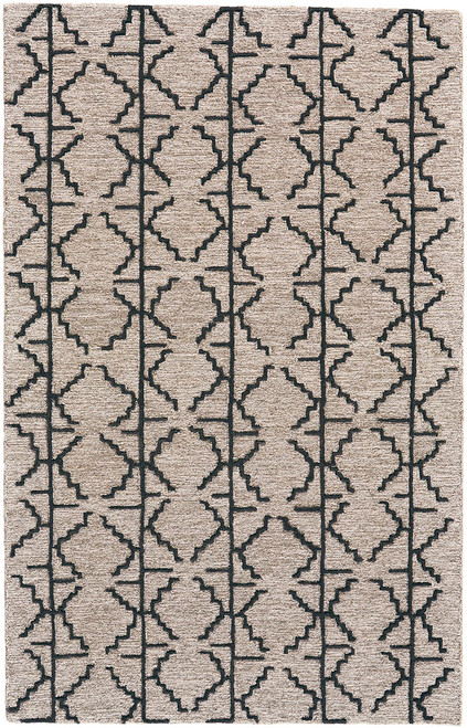Feizy Home Enzo 8732F Charcoal - Gray