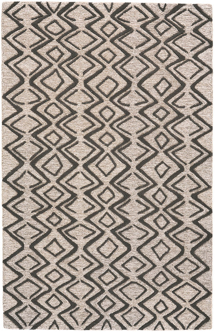 Feizy Home Enzo 8733F Charcoal - Taupe