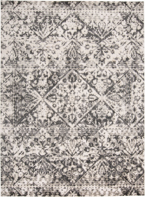 Feizy Home Kano 3876F Charcoal - Ivory
