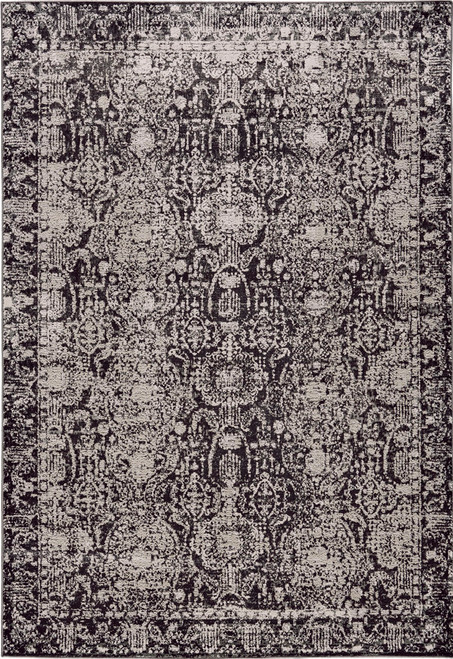 Feizy Home Prasad 3680F Charcoal - Gray