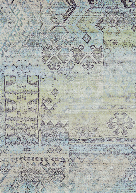 Feizy Home Katari 3376F Mint - Taupe