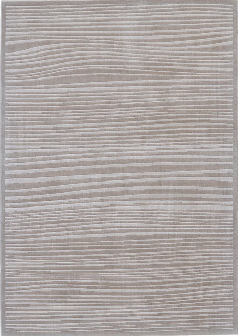 Feizy Home Melina 3398F Taupe - White