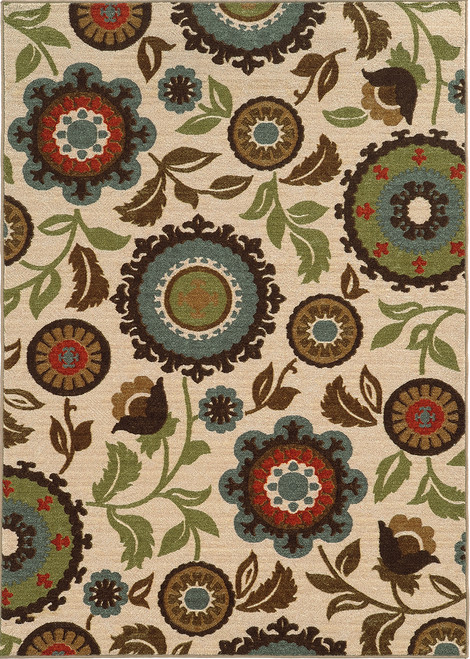 Oriental Weavers Arabella 41888 Ivory | Hot Deals