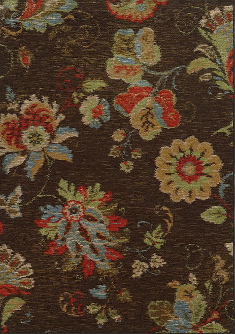 Oriental Weavers Arabella 41908 Brown | Hot Deals