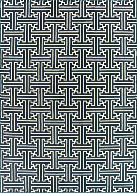 Oriental Weavers Bowen 1333B Navy | Hot Deals