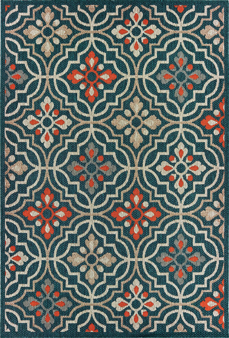 Oriental Weavers Latitude 709B3 Blue | Hot Deals
