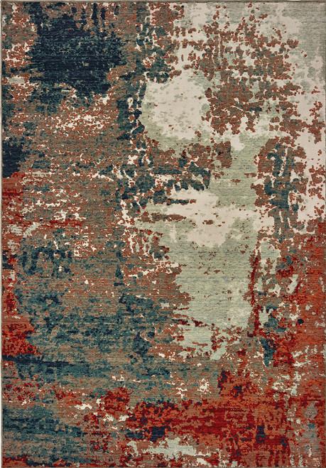 Oriental Weavers Montage 092LE Blue | Hot Deals
