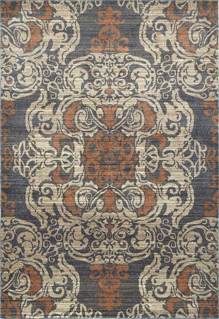 Oriental Weavers Pasha 8022K Blue | Hot Deals