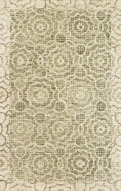 Oriental Weavers Tallavera 55606 Green | Hot Deals