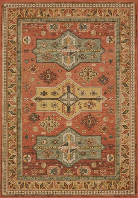 Oriental Weavers Toscana 9571A Orange | Hot Deals