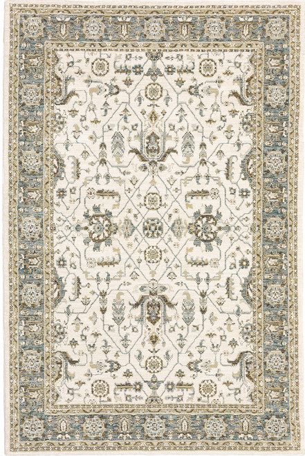 Oriental Weavers Andorra 9537P Ivory | Hot Deals