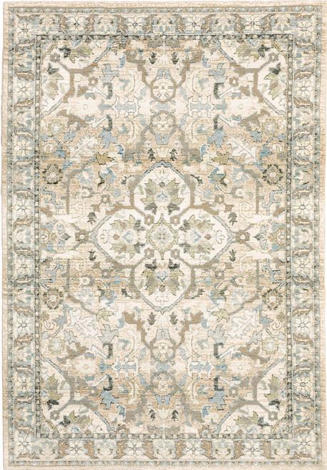 Oriental Weavers Andorra 9818G Beige | Hot Deals