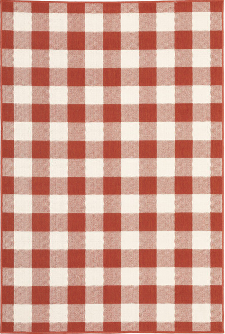 Oriental Weavers Meridian 2598R Red | Hot Deals