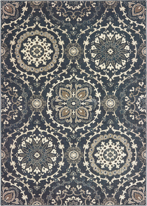 Oriental Weavers Richmond 8e Navy | Hot Deals