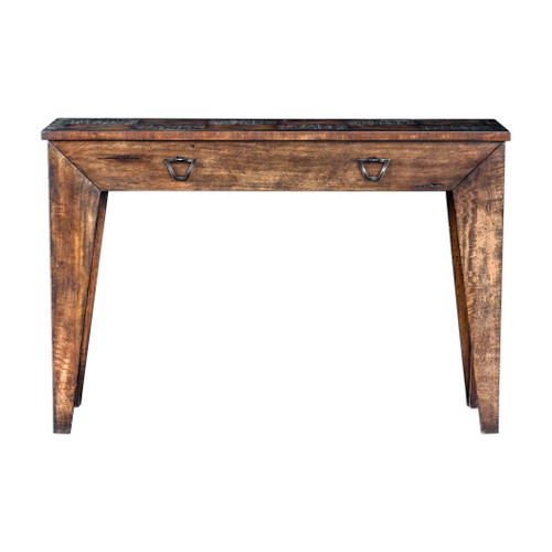 Uttermost Delara Wood Console Table by Matthew Williams