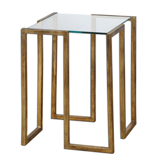 Uttermost Mirrin Accent Table by Matthew Williams