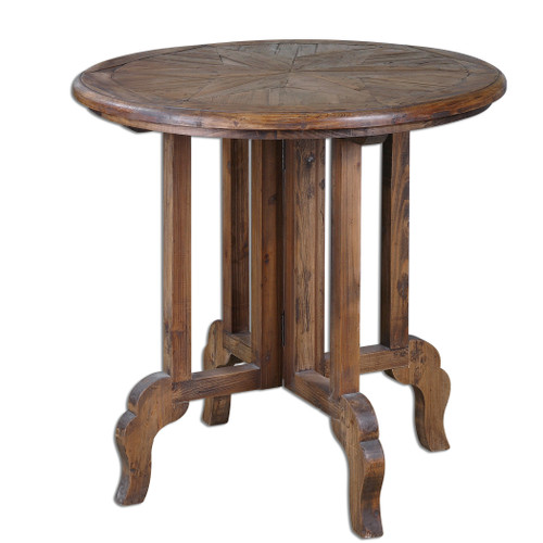 Uttermost Imber Round Accent Table by Matthew Williams