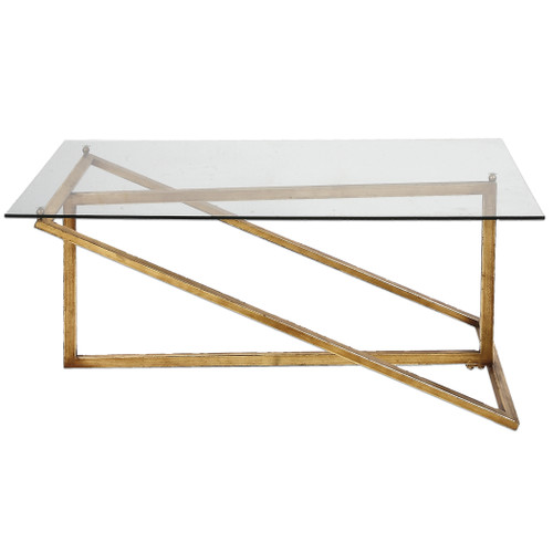 Uttermost Zerrin Glass Coffee Table by Grace Feyock