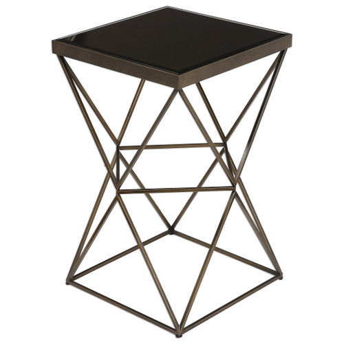 Uttermost Uberto Caged Frame Accent Table by David Frisch
