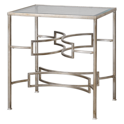 Uttermost Eilinora Silver End Table by Matthew Williams