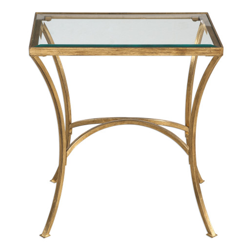 Uttermost Alayna Gold End Table by Matthew Williams