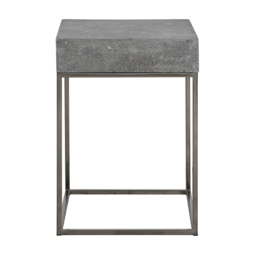 Uttermost Jude Concrete Accent Table by David Frisch