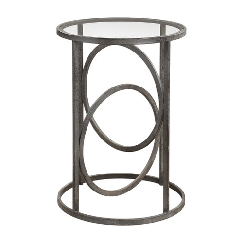 Uttermost Lucien Iron Accent Table by Grace Feyock