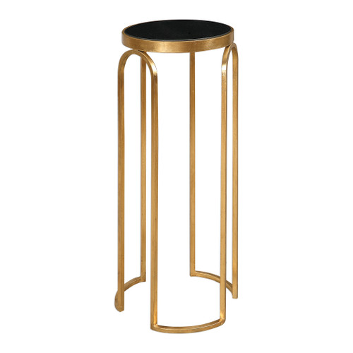 Uttermost Novalie Gold Accent Table by David Frisch