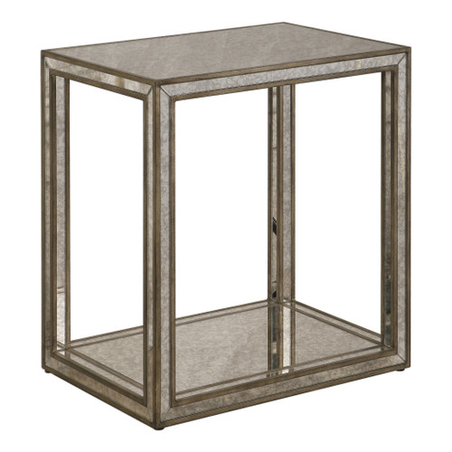 Uttermost Julie Mirrored End Table by Matthew Williams