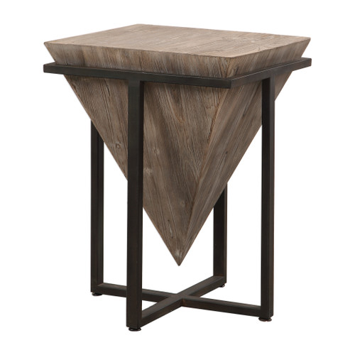 Uttermost Bertrand Wood Accent Table by Grace Feyock