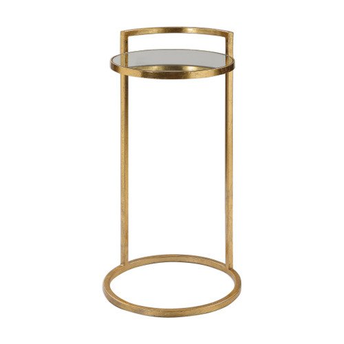 Uttermost Cailin Gold Accent Table by Jim Parsons