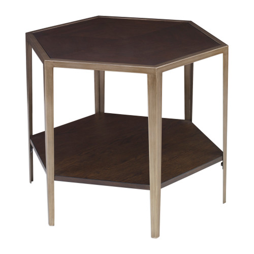 Uttermost Alicia Geometric Accent Table by Matthew Williams