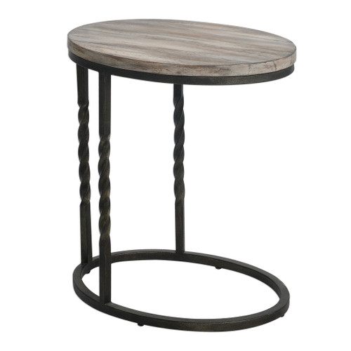 Uttermost Tauret Cantilever Side Table by Matthew Williams