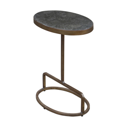 Uttermost Jessenia Stone Accent Table by Matthew Williams