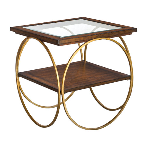 Uttermost Calissa Wood End Table by Matthew Williams