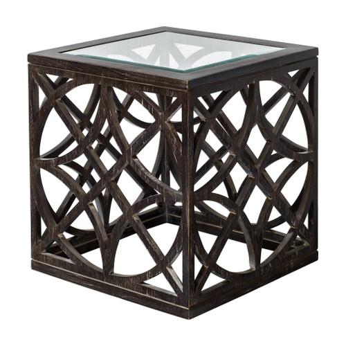 Uttermost Janeva Ash Accent Table by Matthew Williams