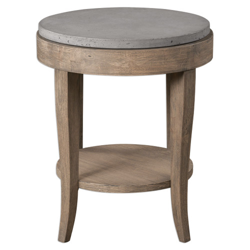 Uttermost Deka Round Accent Table by Matthew Williams