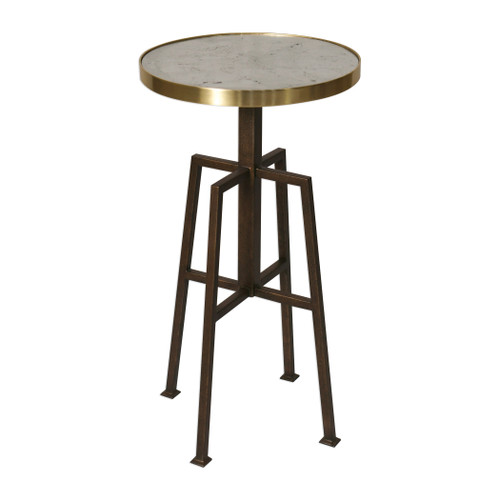 Uttermost Gisele Round Accent Table by Matthew Williams