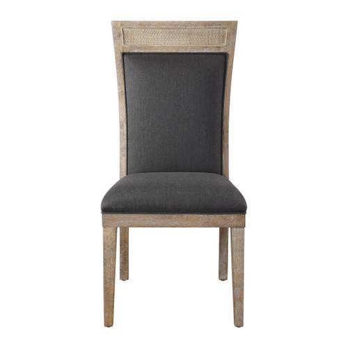 Uttermost Encore Dark Gray Armless Chair by Matthew Williams