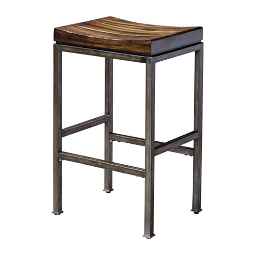 Uttermost Beck Industrial Bar Stool by Matthew Williams